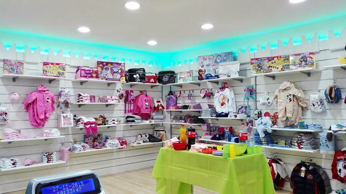 ranout franchising outlet bambini