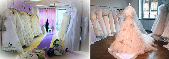 Outlet abiti da sposa franchising
