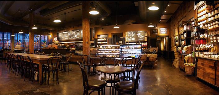 Aprire una caffetteria americana il mercato l 39 iter e l for Arredamento caffetteria