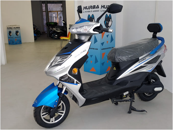 hurba franchising scooter elettrici