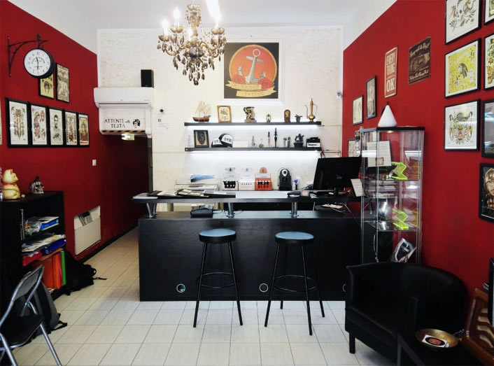 all ink tattoo shop aprire franchising