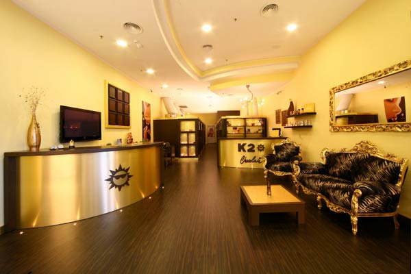 Arredare un centro estetico cube la nuova reception per for Arredamento centri estetici