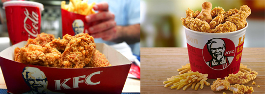 Kentucky Fried Chicken franchising