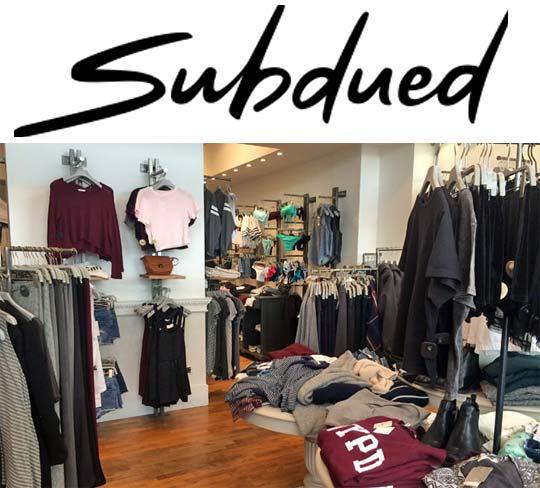 incontrare 33e35 72b8e Franchising Subdued, aprire un negozio Subdued