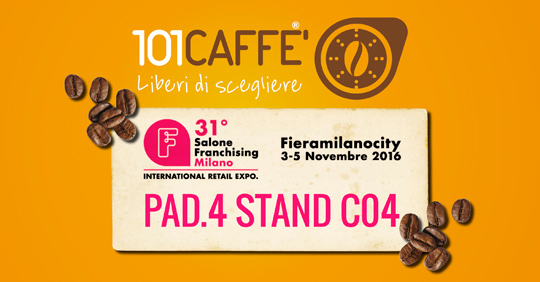 101caffe salone franchising milano