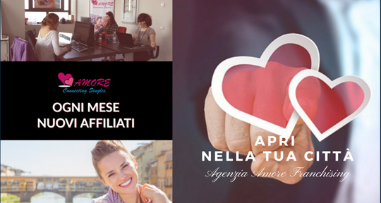agenzia amore franchising aprire on line