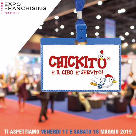 chickito franchising expo napoli 2019