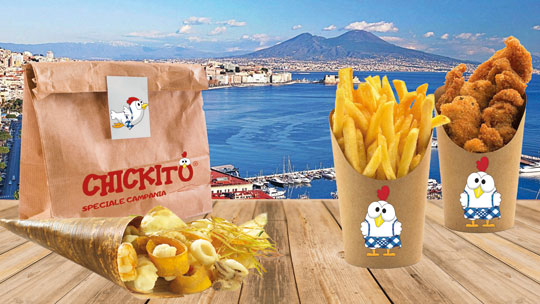 chickito franchising campania food delivery