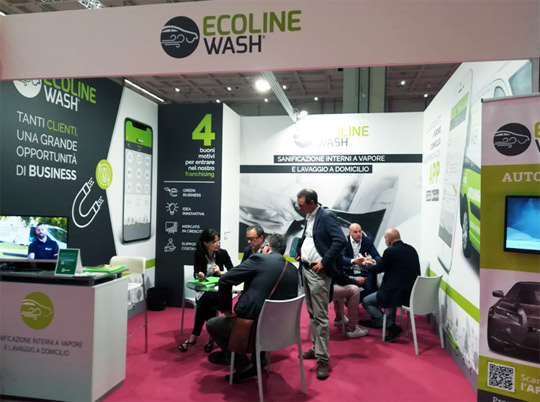 ecoline wash salone franchising milano