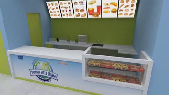 Apre il primo fast food interamente dedicato al senza glutine for Primo arredamenti