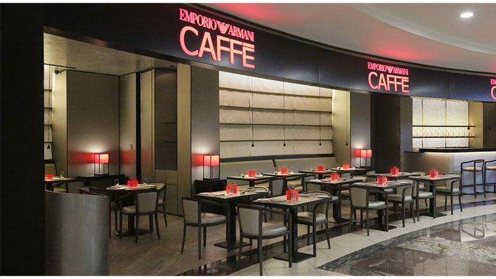 Franchising armani caff aprire un bar con armani for Aprire piani moderni
