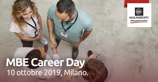 mbe career day franchising milano