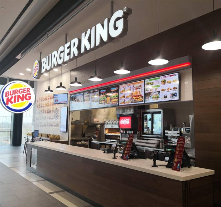 burger king aprire franchising