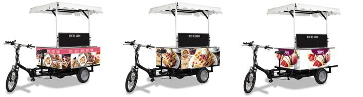 e bike street food