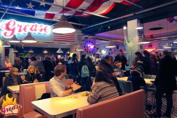 franchising grease american grill