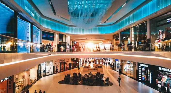 temporary store strategia affitto basso centro commerciale